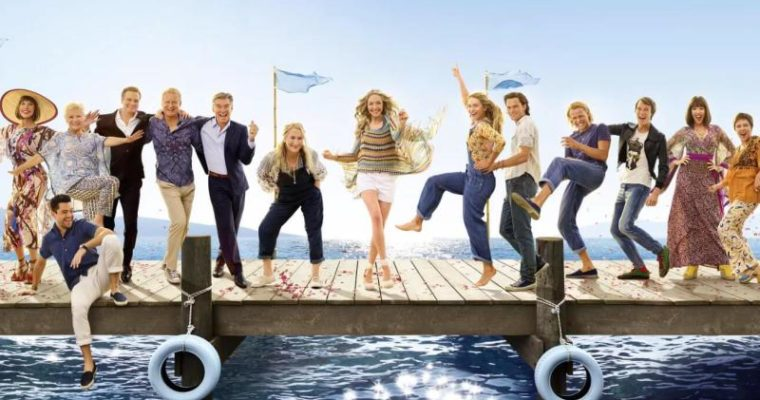 REVIEW – MAMA MIA, HERE WE GO AGAIN !