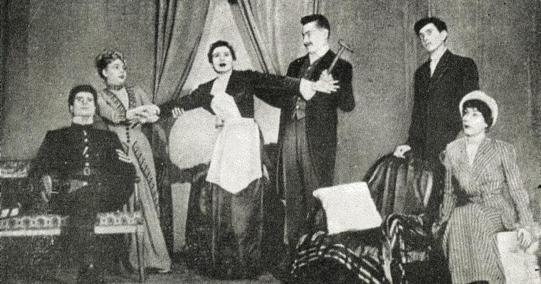 La Cantatrice Chauve sur les planches parisiennes.