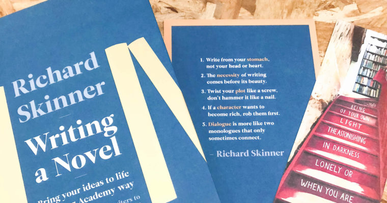 "Masterclass – Richard Skinner ""Writing a Novel"""
