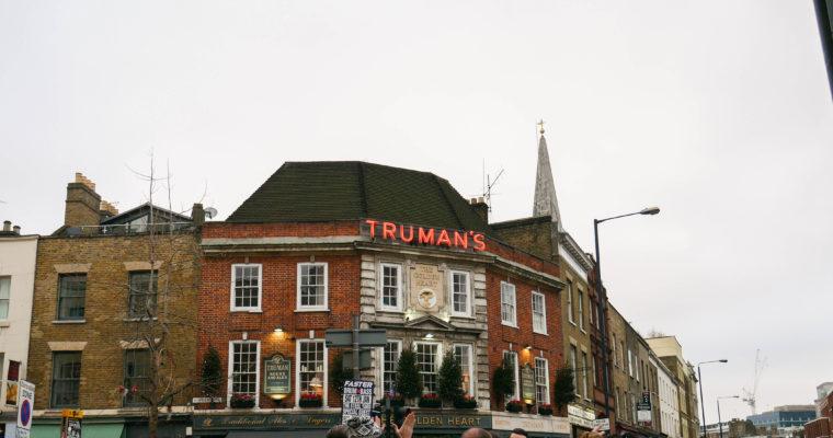 City guide l'East London : Shoreditch et Brick Lane